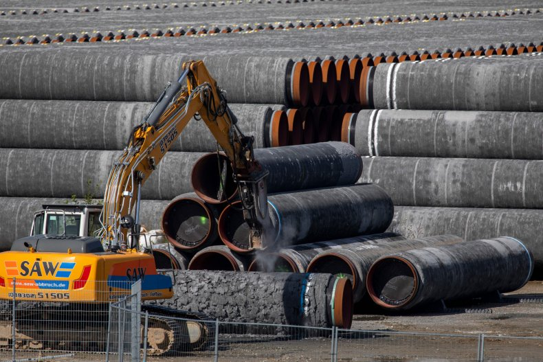 Pipes for the Nord Stream 2 pipeline