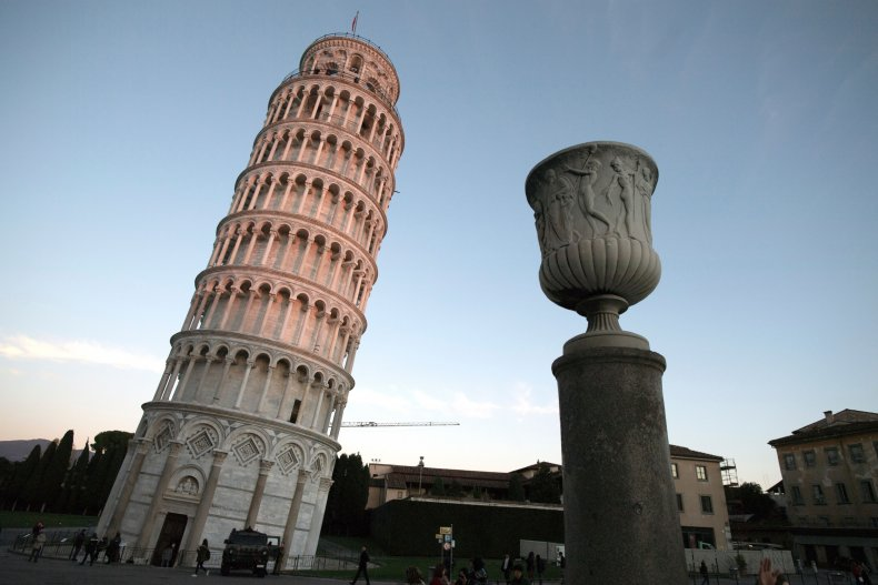 Leanign Tower of Pisa