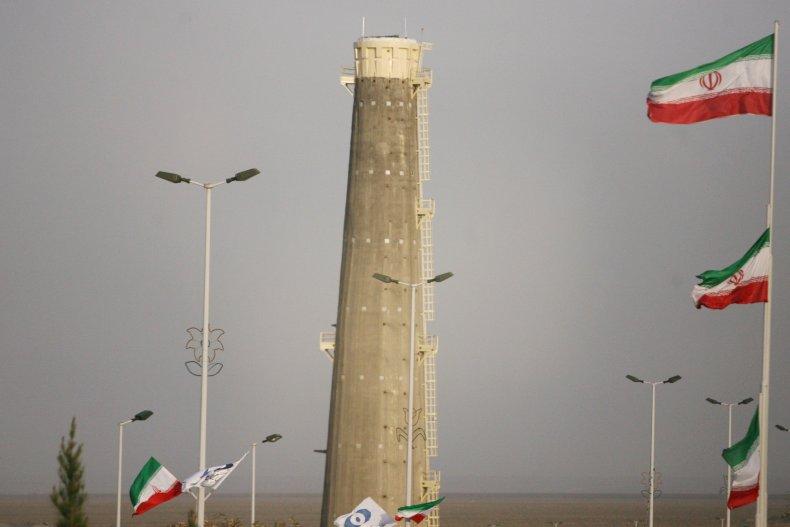 natanz, nuclear, site, flag, iran