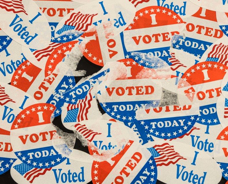 i voted sticker collage