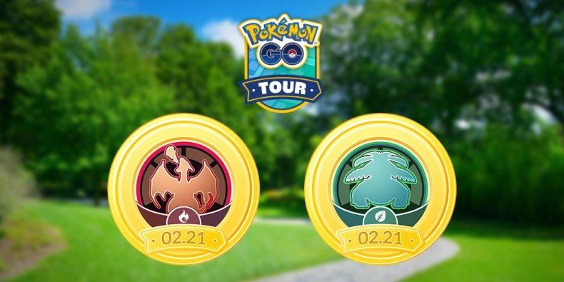 pokemon go kanto tour red green versions