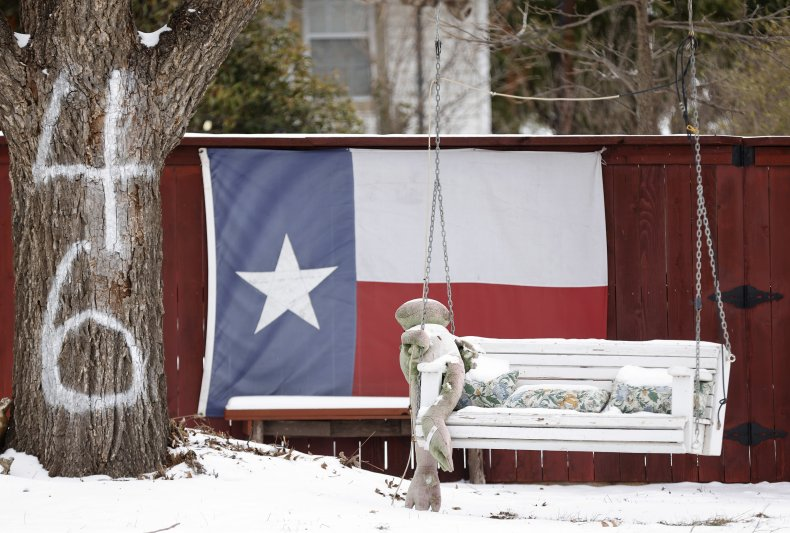 Winter storm Fort Worth Texas February 2021