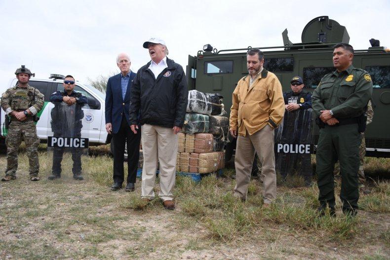 Donald Trump, John Cornyn, Ted Cruz