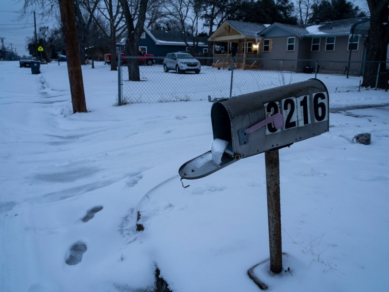 Waco Texas winter storm February 2021