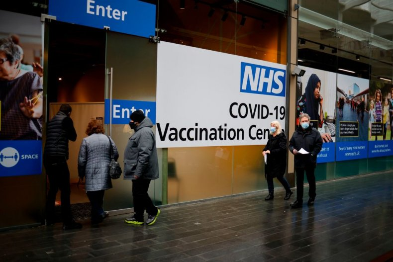 NHS covid London