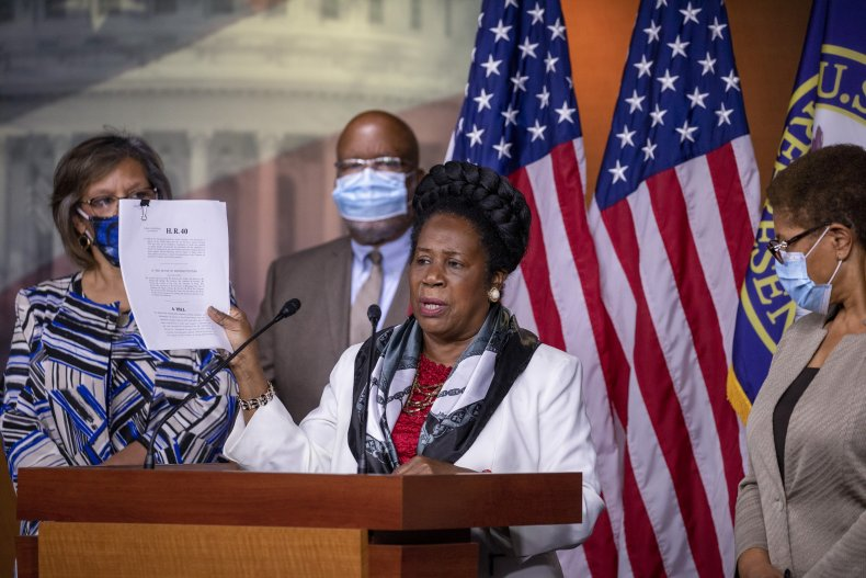 Sheila Jackson Lee H.R. 40 July 2020