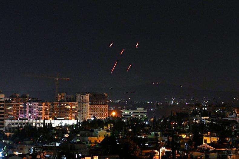 syria, air, defenses, damascus, israel, strike