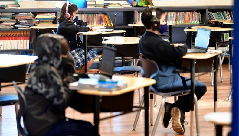 School reopening California
