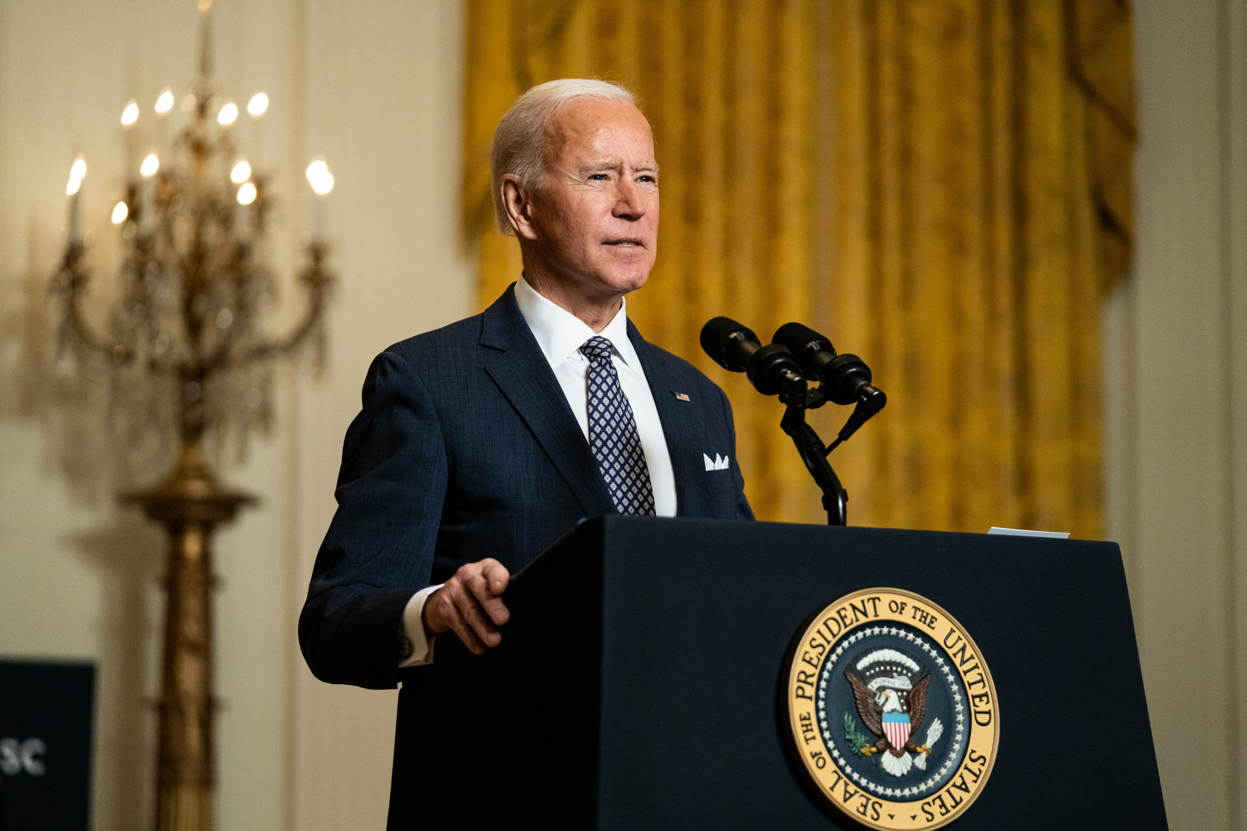 Over 50 Percent of Americans Approve of Biden's Performance During His First Month in Office thumbnail