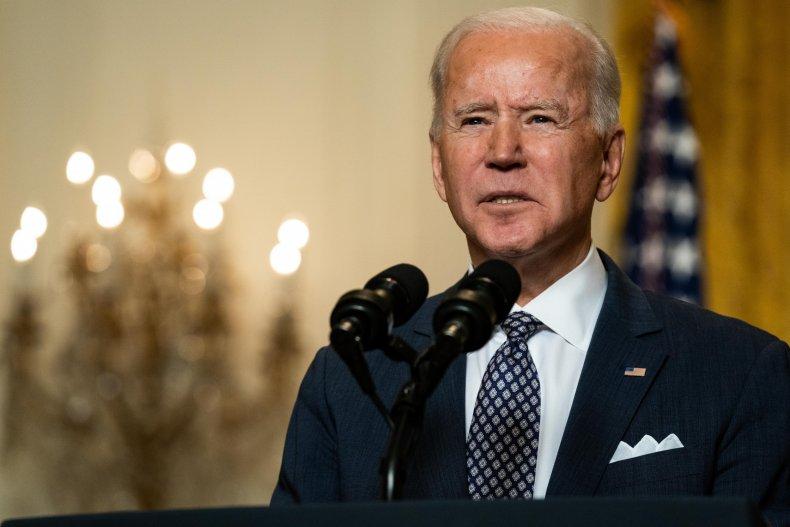 Joe Biden at the White House