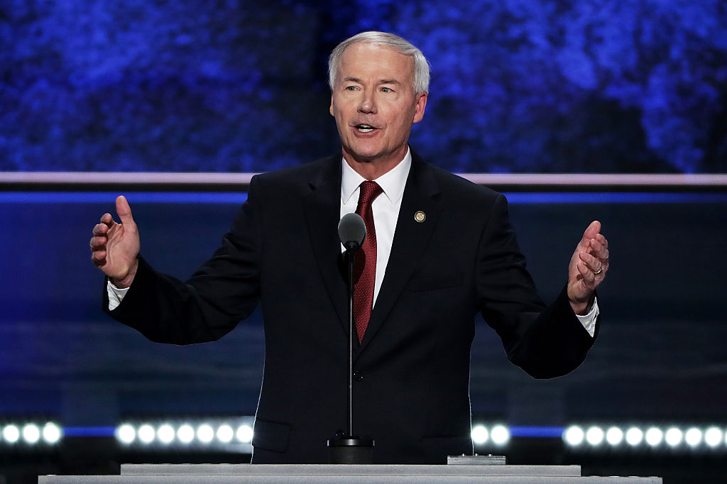 GOP Arkansas Governor Comes Out Against Trump 2024 Run, Says It Would 'Hurt' Republicans - Newsweek