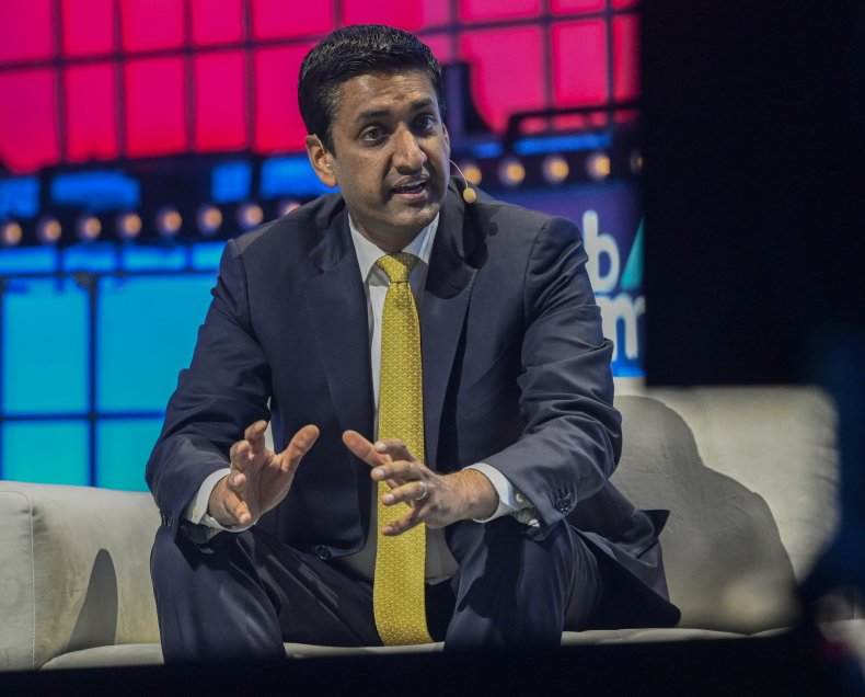 ro khanna at event in 2019