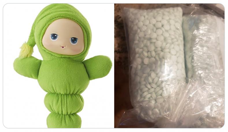 Fentanyl found in stuffed toy