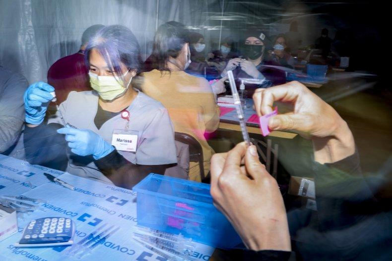 COVID-19 vaccinations in Colorado February 2021