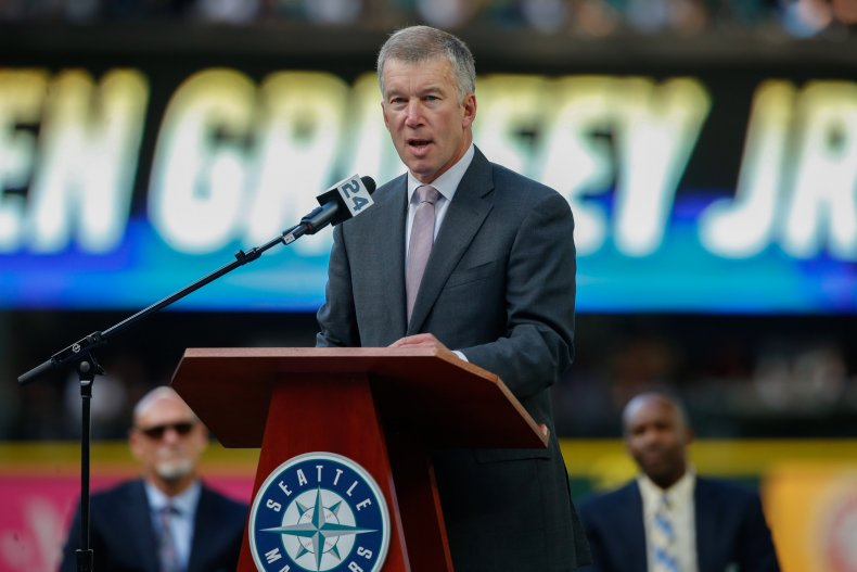 Seattle Mariners's CEO Kevin Mather