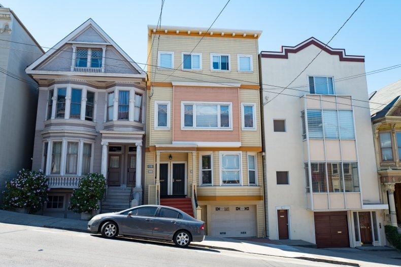 Victorian Home San Francisco.