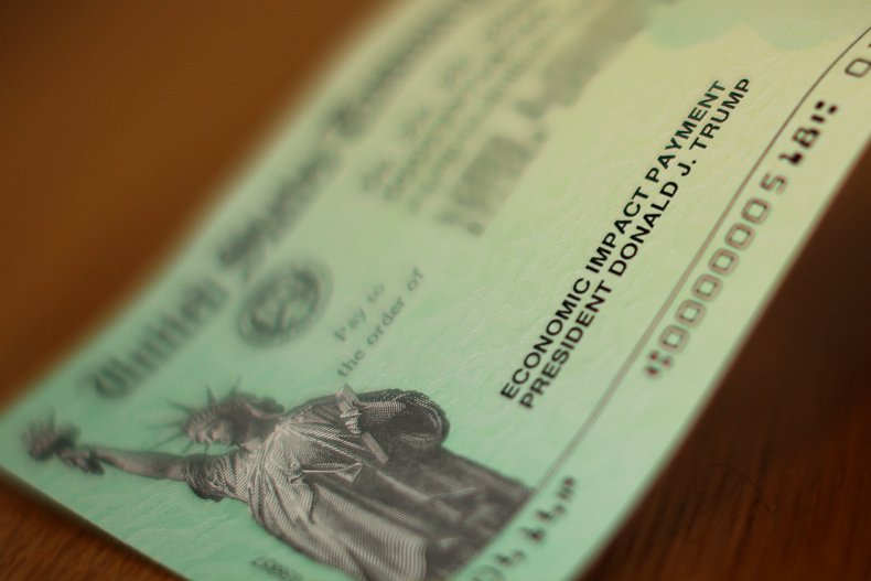 Stimulus check in U.S. April 2020