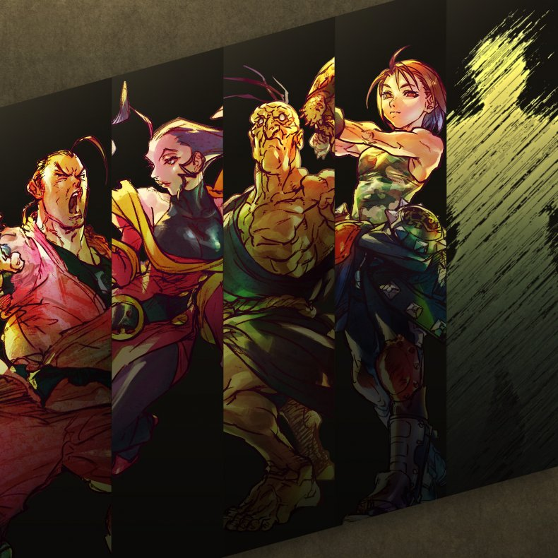 street fighter v season 5 characters