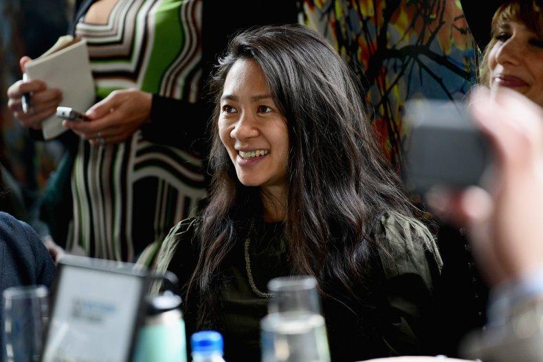 Chloe Zhao Nomadland Golden Globes