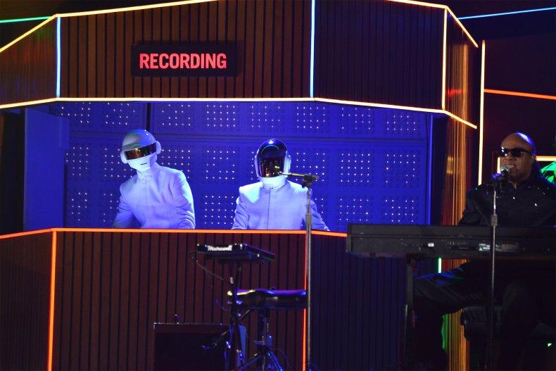Daft Punk with Stevie Wonder