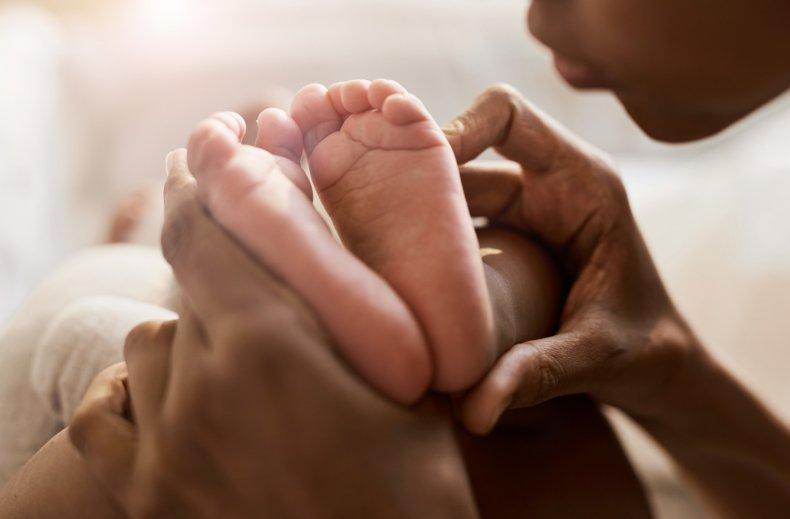 A newborn child