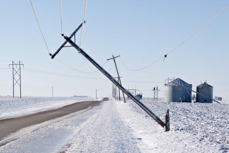 Down power line