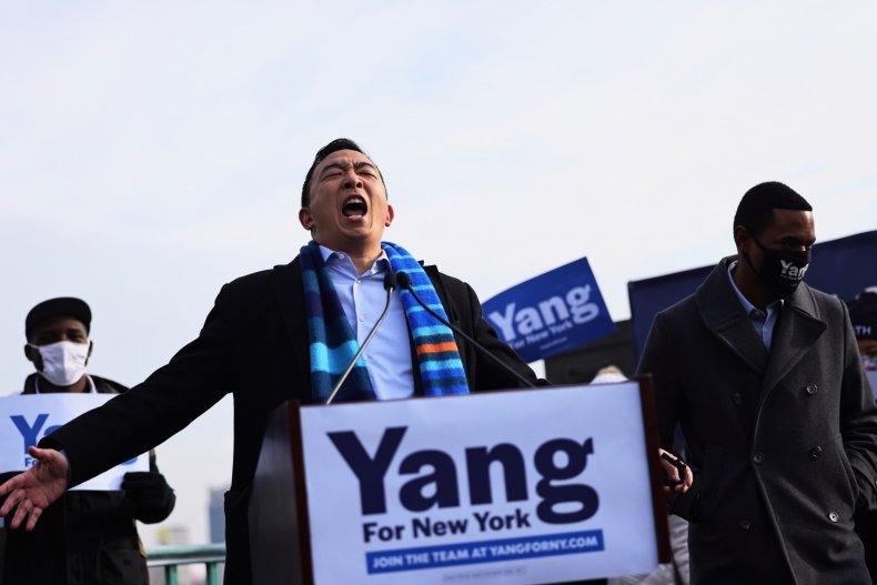 andrew yang new york city mayor
