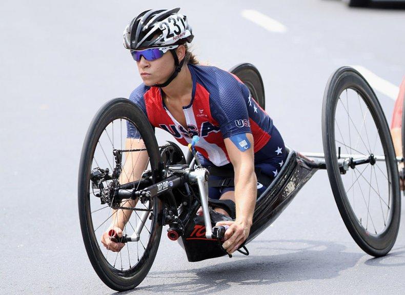 athlete, cycling, paralympics, USA