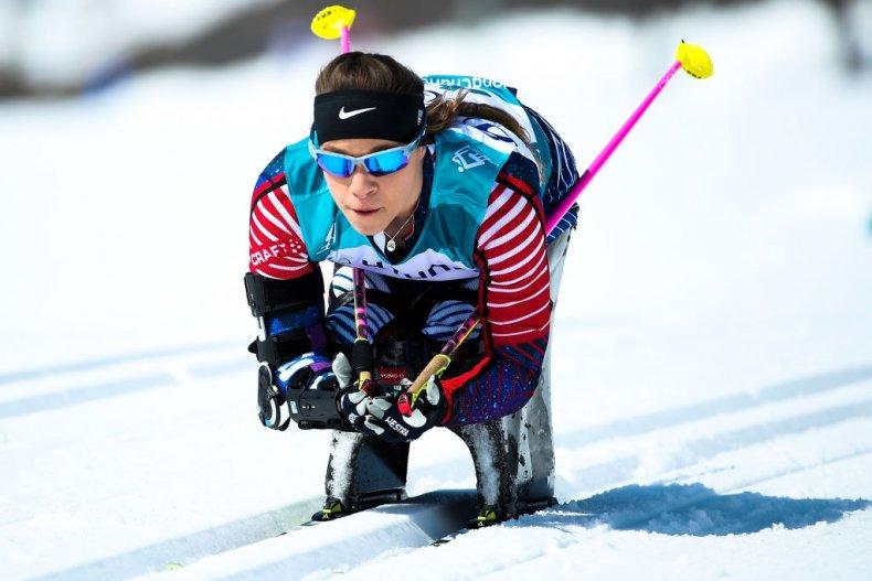 athlete, cross country skiing, paralympics, USA