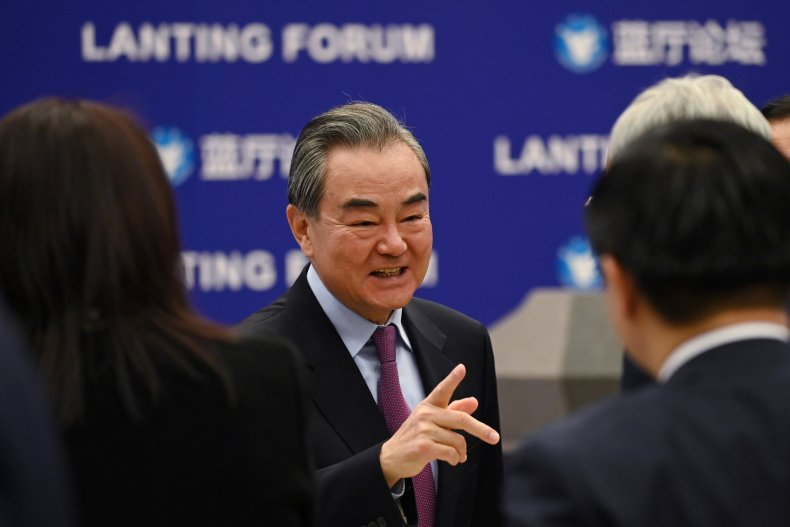 Chinese Foreign Minister Talks U.S.-China Relations