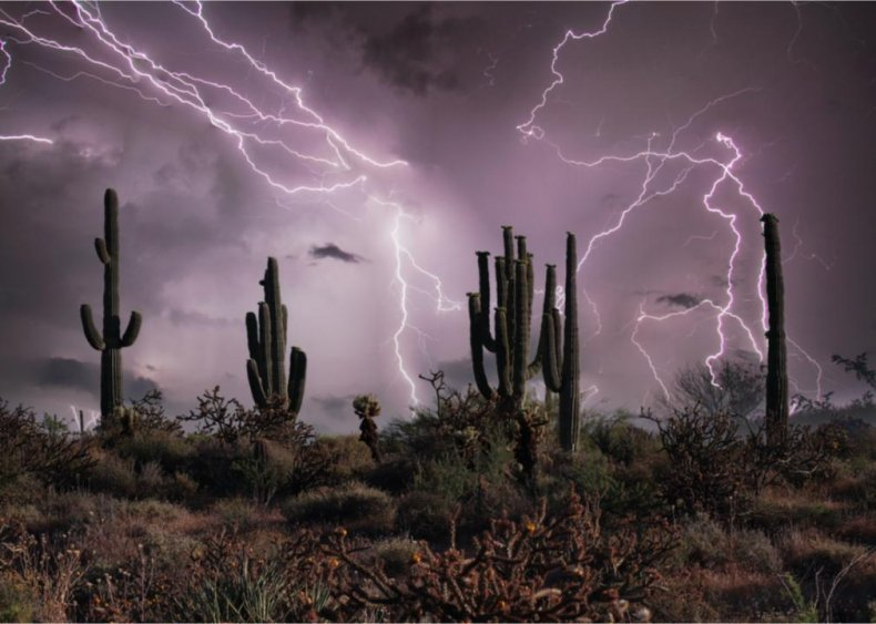 County with the most severe weather in every state