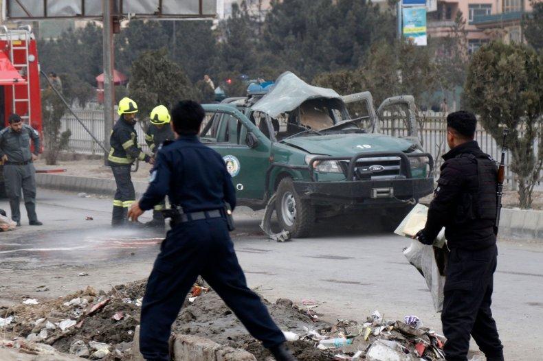 afghanistan, kabul, car, bomb