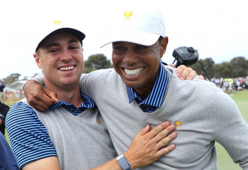Justin Thomas Tiger Woods