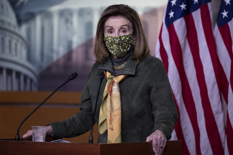 House Speaker Nancy Pelosi (D-CA)