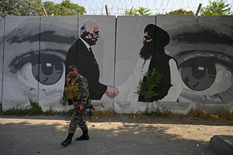 afghanistan, peace, deal, mural, kabul