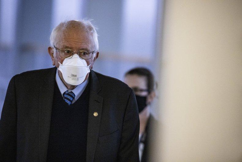 Bernie Sanders Joe Biden Kamala Harris Stimulus