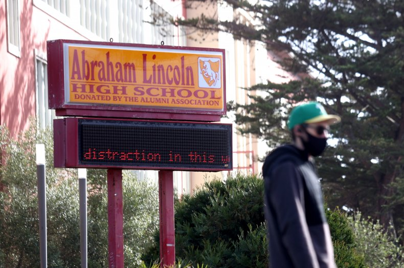 abraham lincoln high school equitable math