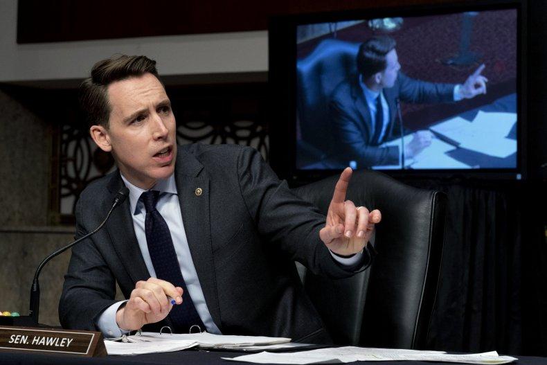 Sen. Josh Hawley Denies Capitol Riots Complicity
