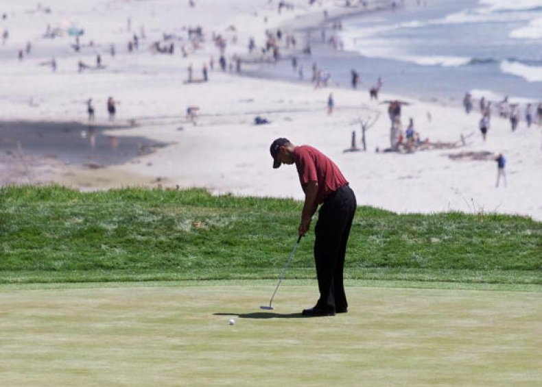 Tiger Woods Wins U.S. Open
