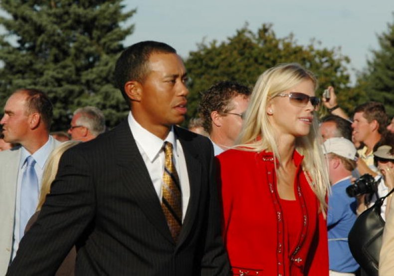 Tiger Woods and Wife Elin Nordegren