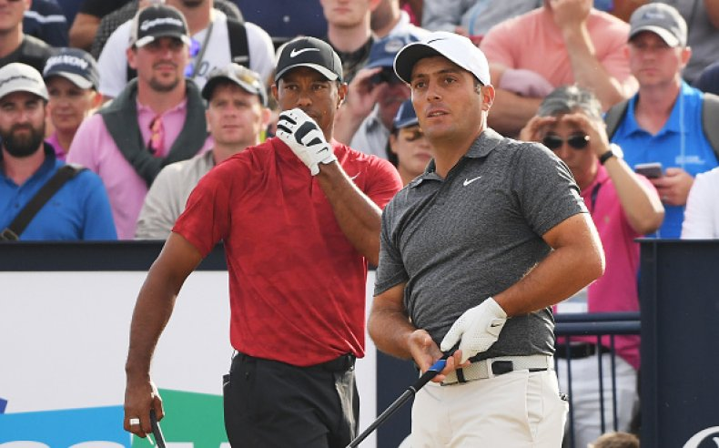 Tiger Woods British Open 2018