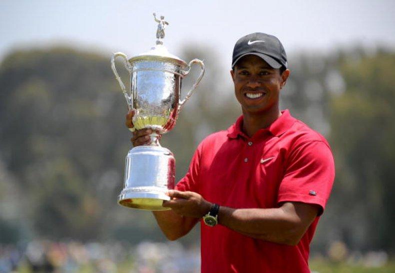 Tiger Woods U.S. Open 2008