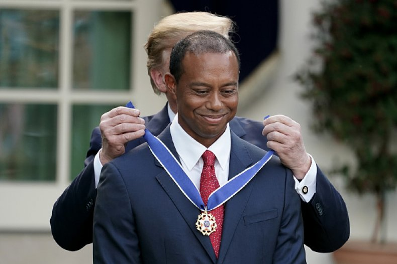 Tiger Woods Presidential Medal of Freedom