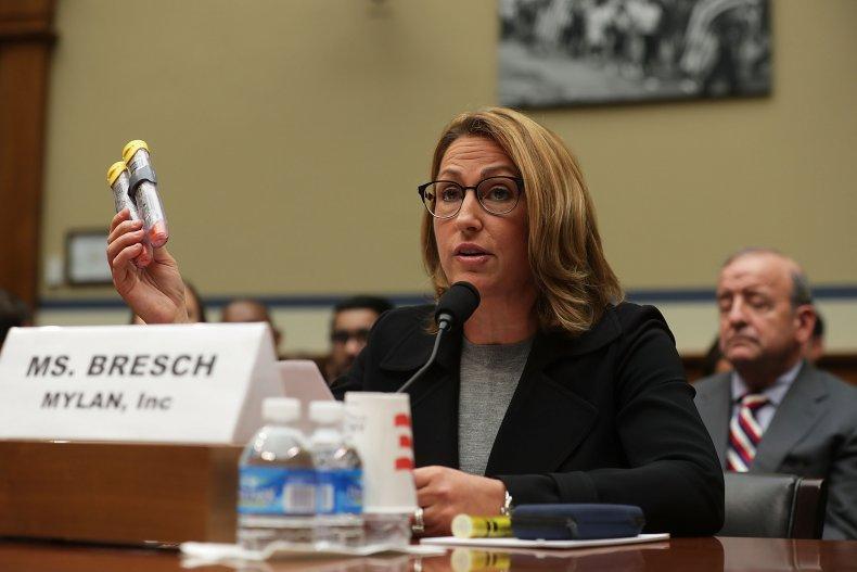 heather bresch at committee hearing