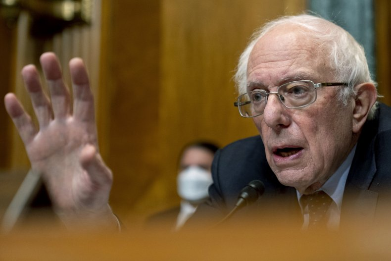 bernie sanders at committee hearing