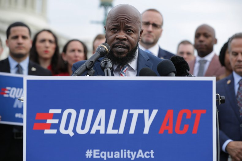 Equality Act campaigners at US Congress