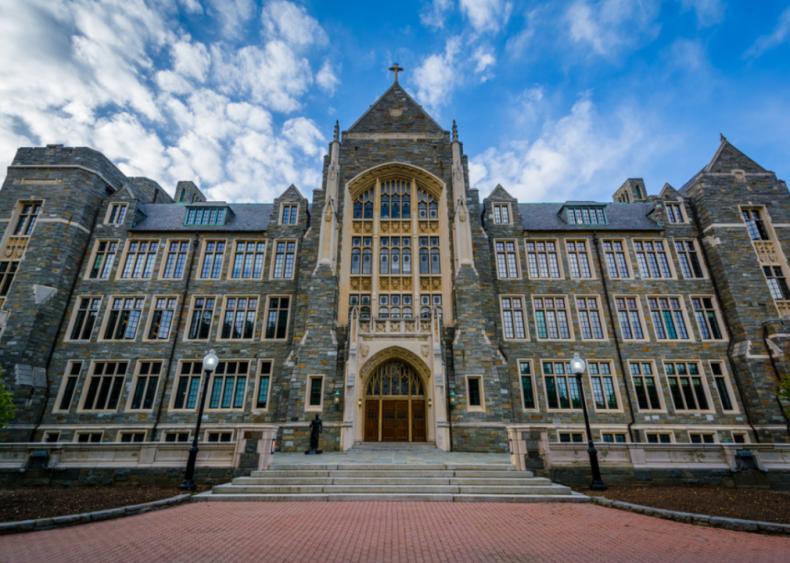 #11. Georgetown University