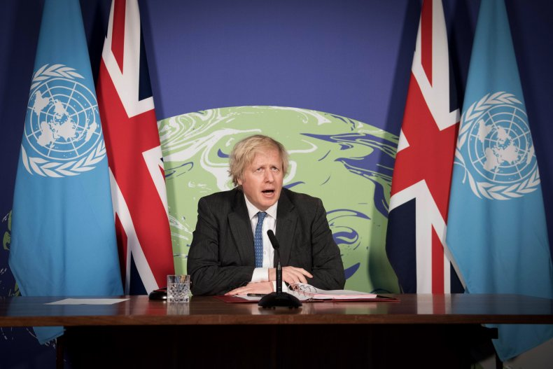 Prime Minister Boris Johnson Chairs UN Council