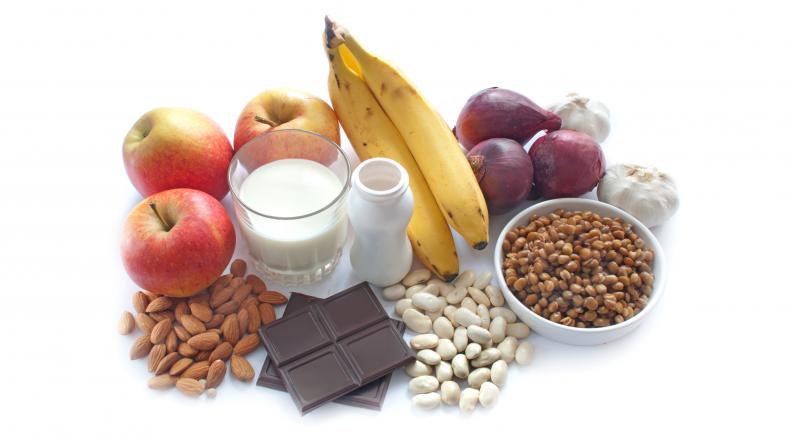 Food with probiotics