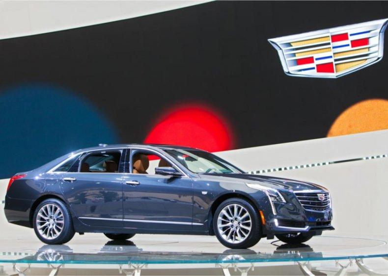 #3. Cadillac CTS